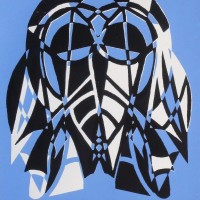 Tribal Mask Screen Print