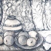Cezanne Inspired Still Life Drawing
