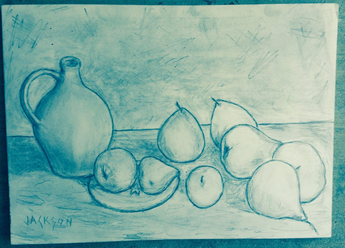 Fruit Drawing Study