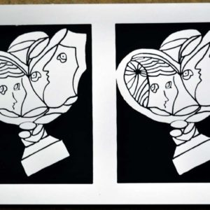 Marriage Double Screen Print