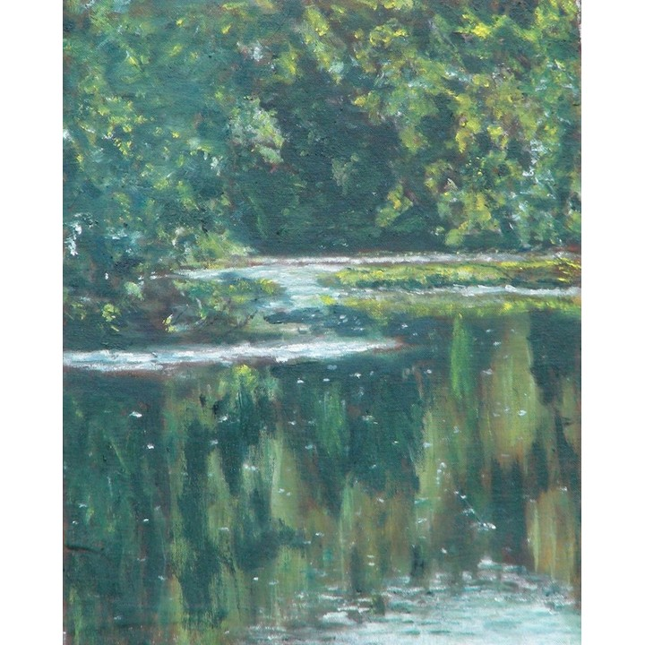 Stones River Painting