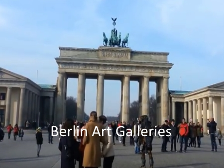 Berlin Art Galleries Maps and Social Media
