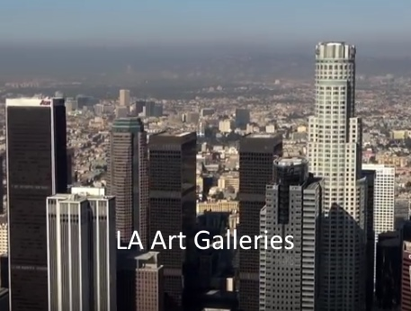 LA Art Galleries Maps and Social Media