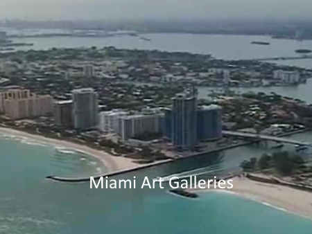 Miami Art Galleries Maps Links and Social Media