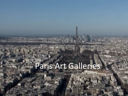 Paris Art Galleries Maps and Social Media