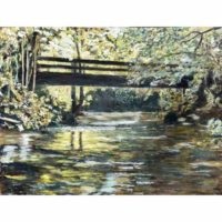 Creek Painting Art