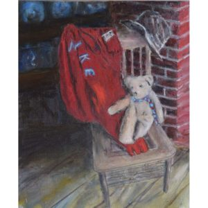 Bear Chair and Nike Painting