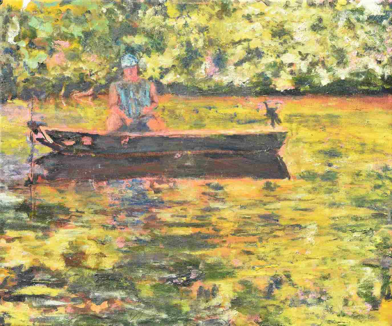 fisherman painting